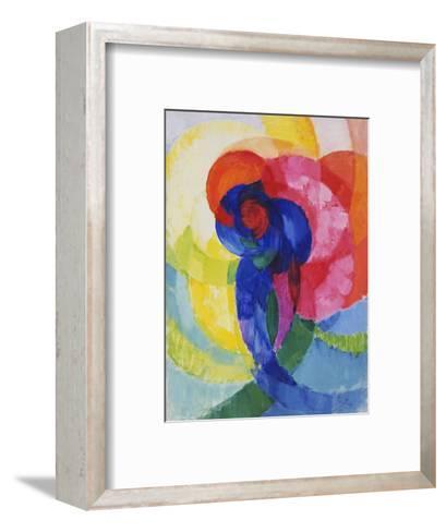 Red and Blue Disks-Frantisek Kupka-Framed Art Print