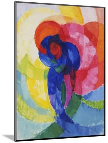 Red and Blue Disks-Frantisek Kupka-Mounted Giclee Print