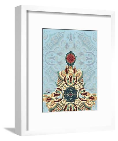 Meditating-Teofilo Olivieri-Framed Art Print