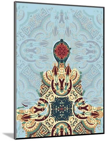Meditating-Teofilo Olivieri-Mounted Giclee Print