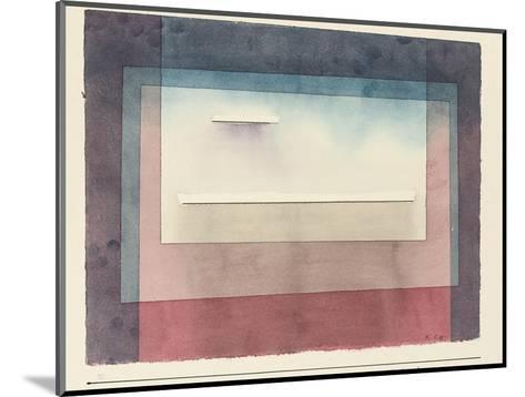 Dormant, 1930-Paul Klee-Mounted Giclee Print