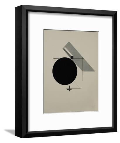 Proun-El Lissitzky-Framed Art Print