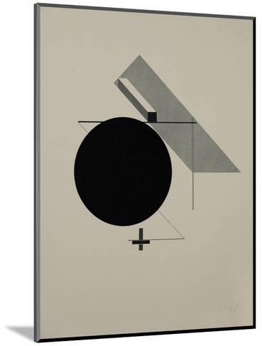 Proun-El Lissitzky-Mounted Giclee Print