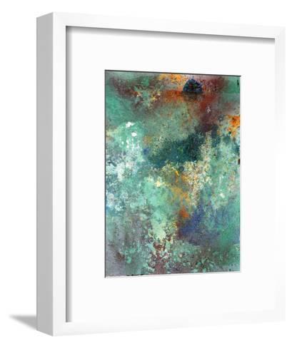 Rock Surface 1-Rob Woods-Framed Art Print