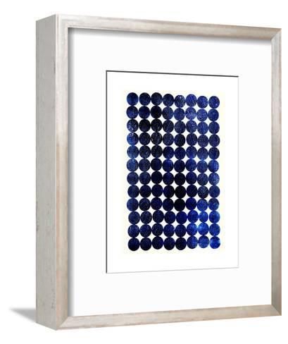Unity Indigo-Garima Dhawan-Framed Art Print