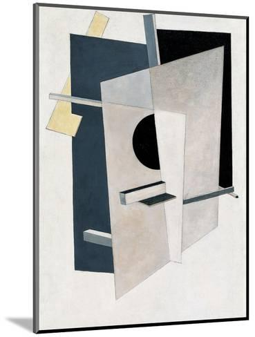 Proun 6-El Lissitzky-Mounted Giclee Print