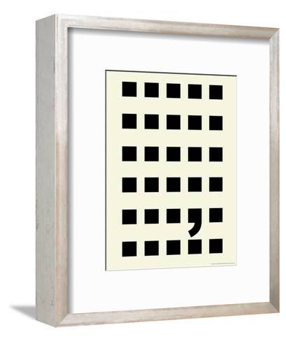 Full Stop-Philip Sheffield-Framed Art Print