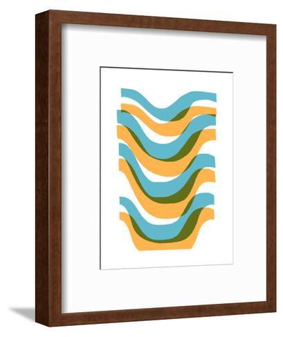 Wave-Francesca Iannaccone-Framed Art Print