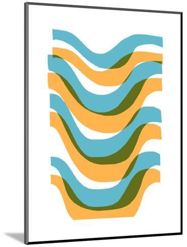 Wave-Francesca Iannaccone-Mounted Giclee Print