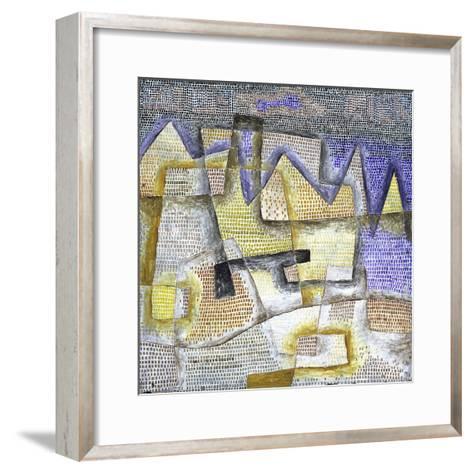 Rocky Coast-Paul Klee-Framed Art Print
