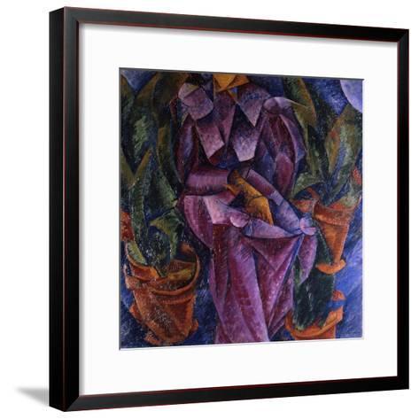 Composizione Spiralica, 1913-Umberto Boccioni-Framed Art Print