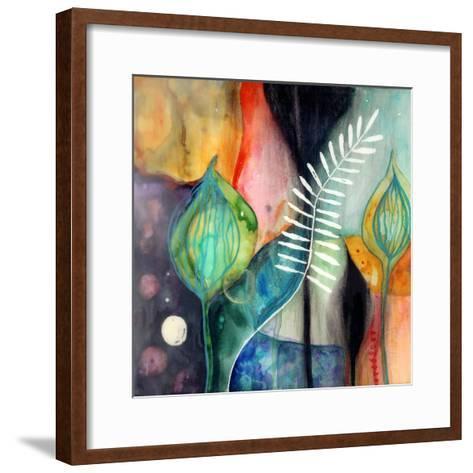 Collectedness-Wyanne-Framed Art Print
