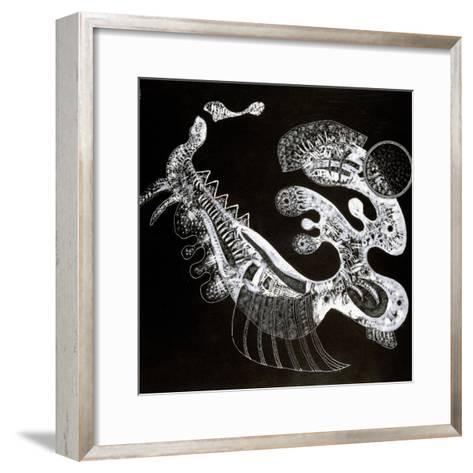 Black and White, 20th Century-Vassily Kandinsky-Framed Art Print