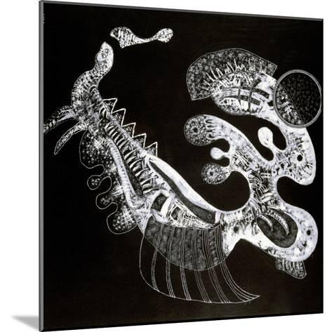 Black and White, 20th Century-Vassily Kandinsky-Mounted Giclee Print