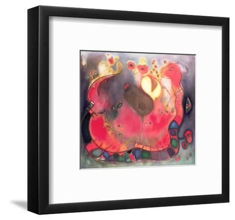 The Sacred Snake, 1994-Jane Deakin-Framed Art Print