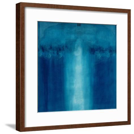 Untitled Blue Painting, 1995-Charlie Millar-Framed Art Print