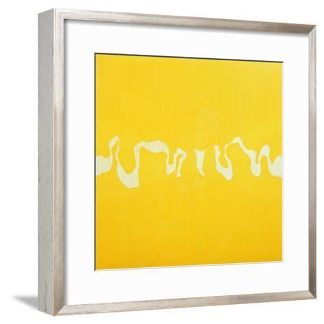 Yellow Journey-Charlie Millar-Framed Art Print