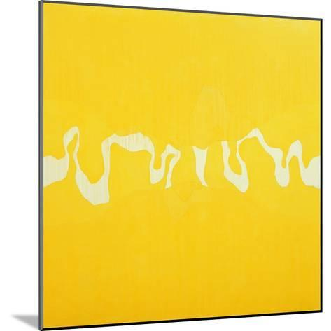 Yellow Journey-Charlie Millar-Mounted Giclee Print