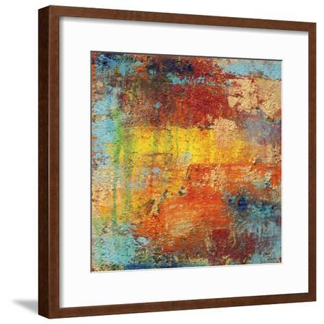 Saturation 2-Hilary Winfield-Framed Art Print