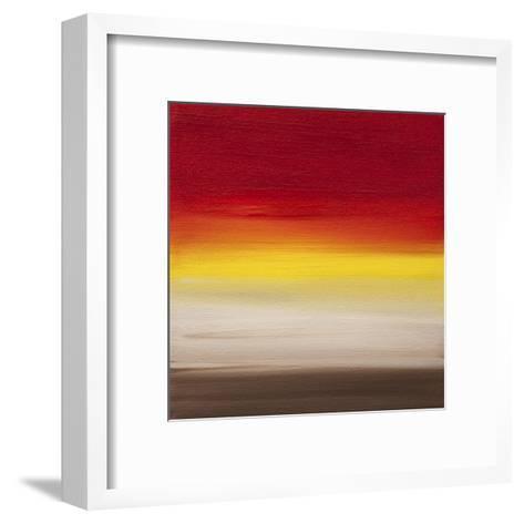 Sunsets - Canvas 1-Hilary Winfield-Framed Art Print