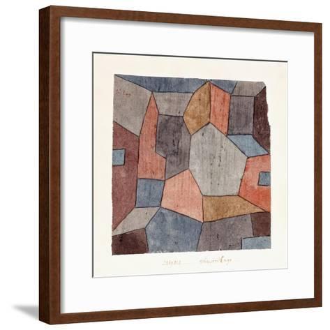 Hauser-Enge-Paul Klee-Framed Art Print