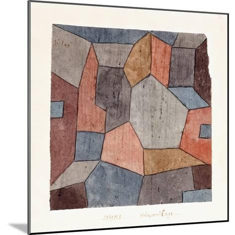 Hauser-Enge-Paul Klee-Mounted Giclee Print