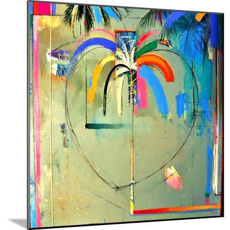 The Serendipity Peek-A-Boo Palm (Hello Freedom)-Andrew Hewkin-Mounted Giclee Print