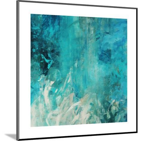 Aqua Falls-Jodi Maas-Mounted Giclee Print