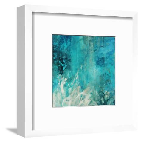 Aqua Falls-Jodi Maas-Framed Art Print