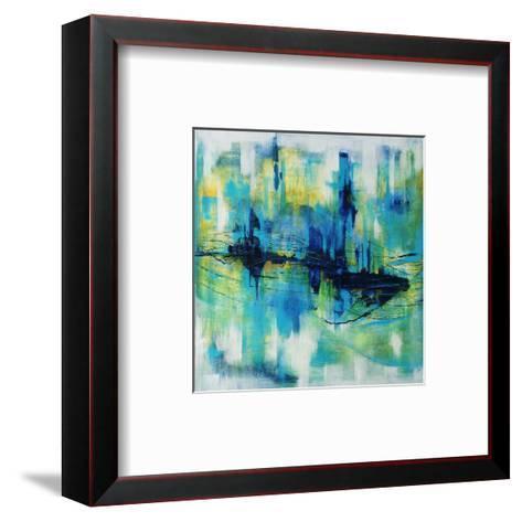 Rush Hour Blues-Joshua Schicker-Framed Art Print