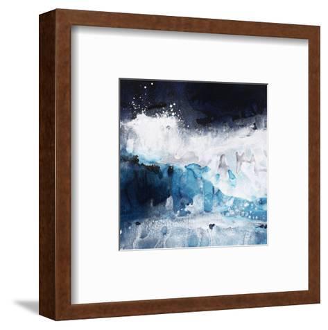 Crashing Waves II-Kari Taylor-Framed Art Print
