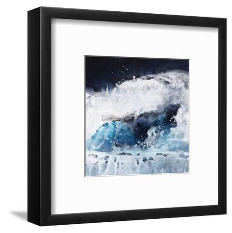 Crashing Waves I-Kari Taylor-Framed Art Print