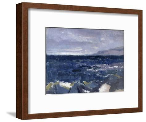 Treshnish Point from Iona-Francis Campbell Cadell-Framed Art Print