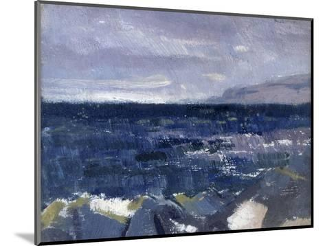 Treshnish Point from Iona-Francis Campbell Cadell-Mounted Giclee Print