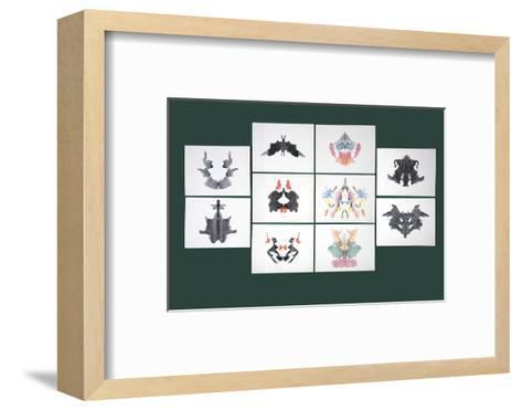 Rorschach Inkblot Test-Sheila Terry-Framed Art Print