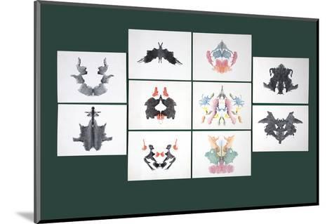 Rorschach Inkblot Test-Sheila Terry-Mounted Photographic Print