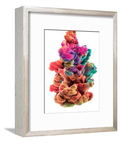 Colorful Color Drop-sanjanjam-Framed Art Print