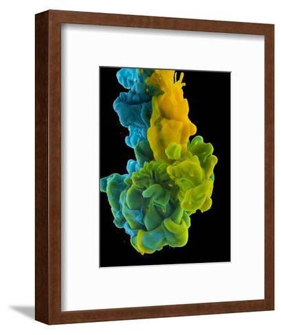 Color Drop-sanjanjam-Framed Art Print