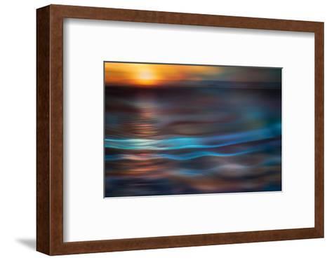 Pacific Sunset-Ursula Abresch-Framed Art Print