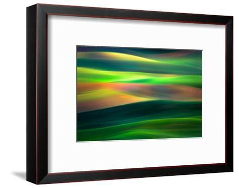 Waves 1-Ursula Abresch-Framed Art Print
