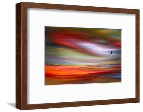 Lone Bird-Ursula Abresch-Framed Art Print