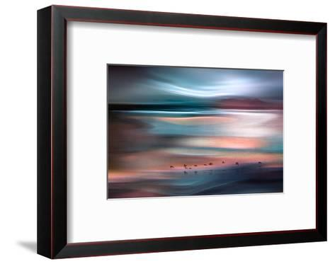 Migrations - Blue Sky-Ursula Abresch-Framed Art Print