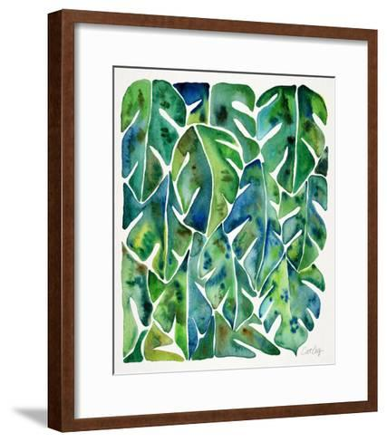 Green Philodendron-Cat Coquillette-Framed Art Print