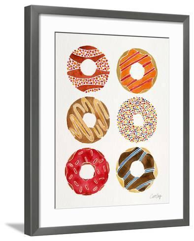 Multi Donuts-Cat Coquillette-Framed Art Print