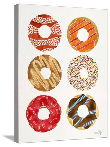 Multi Donuts-Cat Coquillette-Stretched Canvas Print