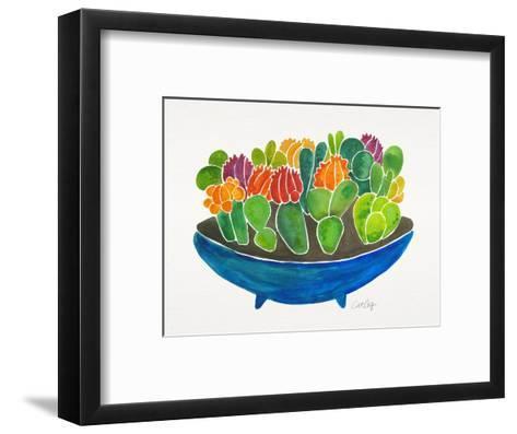 Succulents-Cat Coquillette-Framed Art Print