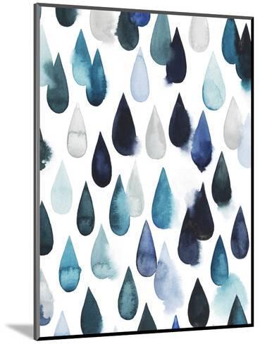 Water Drops II-Grace Popp-Mounted Art Print