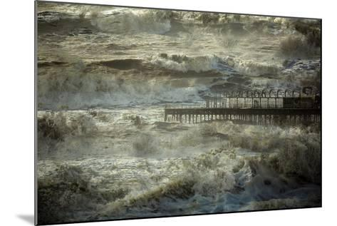 The Dark and Rolling Sea-Valda Bailey-Mounted Photographic Print