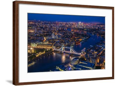 London from Shard-Marco Carmassi-Framed Art Print