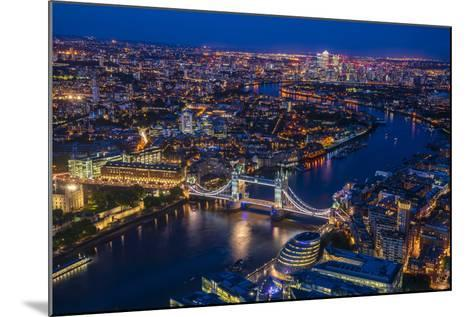 London from Shard-Marco Carmassi-Mounted Photographic Print